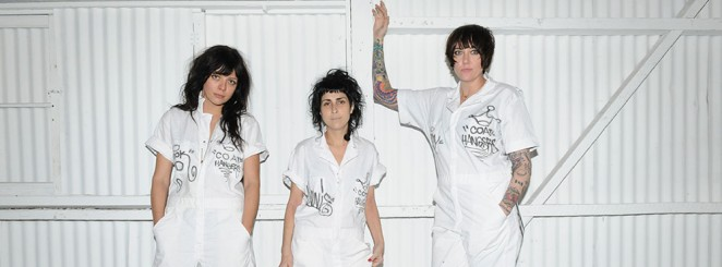 The Coathangers |  DJ Felix Lindén
