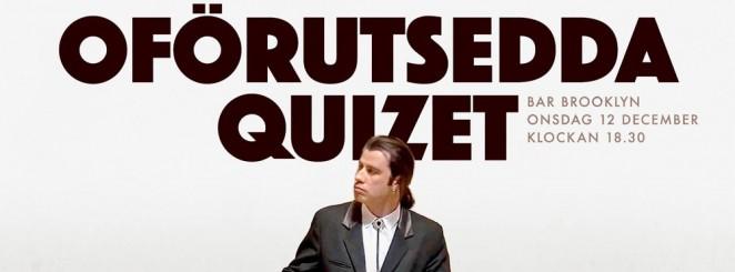 Nya Filmquizet | Det Oförutsedda Quizet
