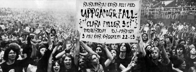 ★ Rajrajpartaj med Uppgång&Fall: Clara fyller 30! ★Indiefriday!★