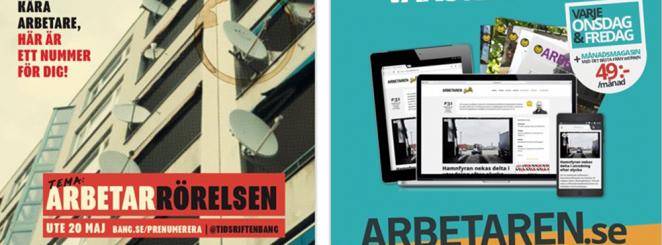 Releasefest BANG & Tidningen Arbetaren.