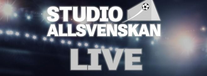 Studio Allsvenskan- LIVE!