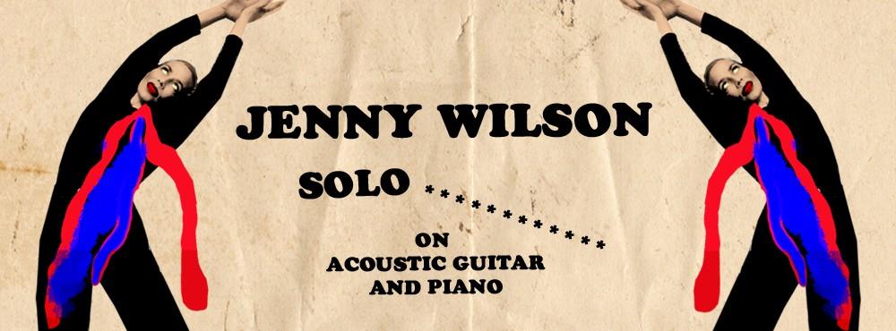 Jenny Wilson (solo)  | sittande publik, begränsat antal platser
