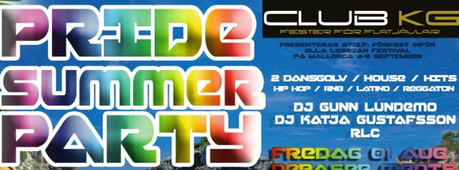 club KG ♥ PRIDE SUMMER PARTY