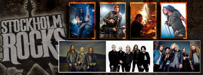 STOCKHOLM ROCKS: ALLEGIANCE OF ROCK, AVATARIUM, GRAND MAGUS, INGLORIOUS.