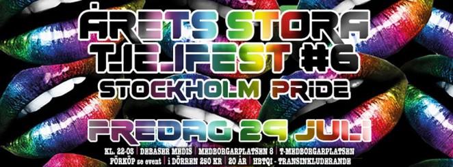 Pridefest - Årets Stora Tjejfest #6