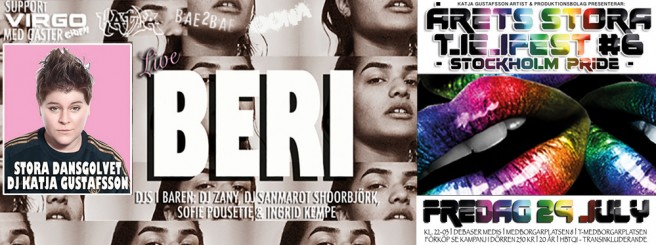PRIDEFEST - ÅRETS STORA TJEJFEST #6 - LIVE BERI