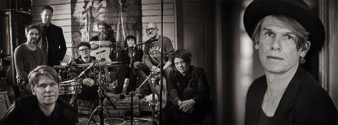Roger Karlsson med band – releasegig för albumet Gubbjävelvärld.
