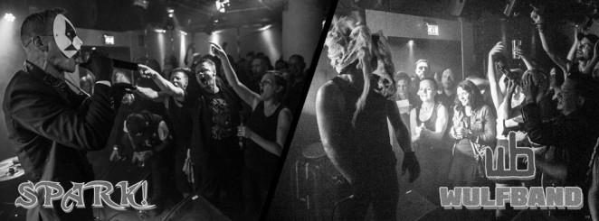 Juldagsdepp med Klubb DÖD |  Live: SPARK! & Wulfband