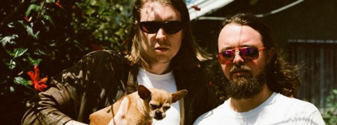 Alex Cameron with Roy Molloy on Horn